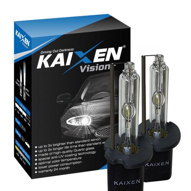 Ксеноновые лампы KAIXEN H3 5000K (35W/3800Lm) Vision+ MAXX