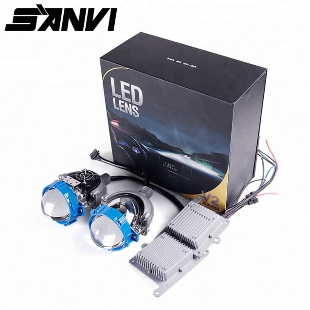 Универсальные bi-led линзы SANVI 2,5 дюйма 35W GPI (ORIGINAL)