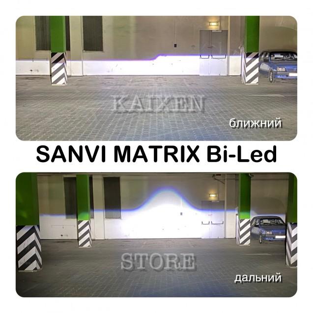 Bi-led линзы SANVI 3 дюйма 52W MATRIX (Luma I5+)