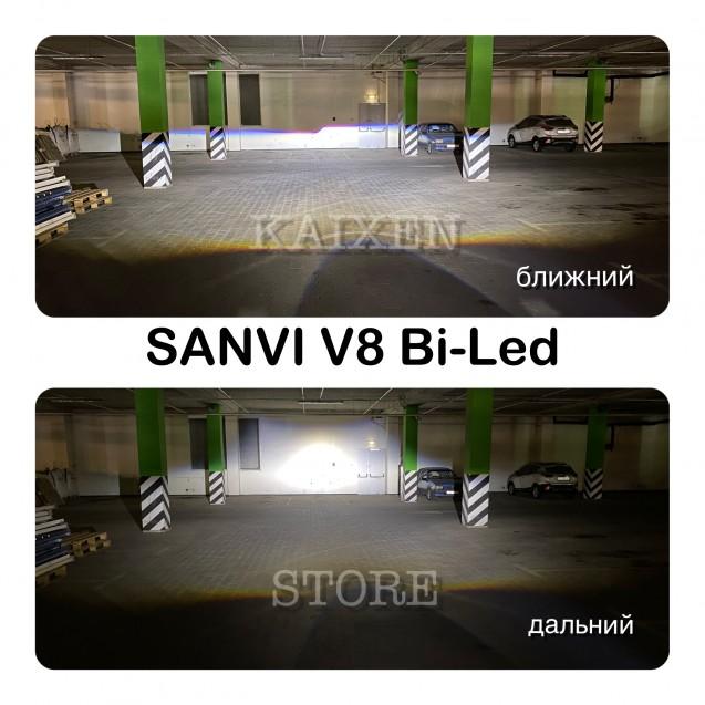 Bi-led линзы SANVI V8 3 дюйма 55W