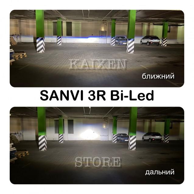 Bi-led линзы SANVI 3R 3 дюйма