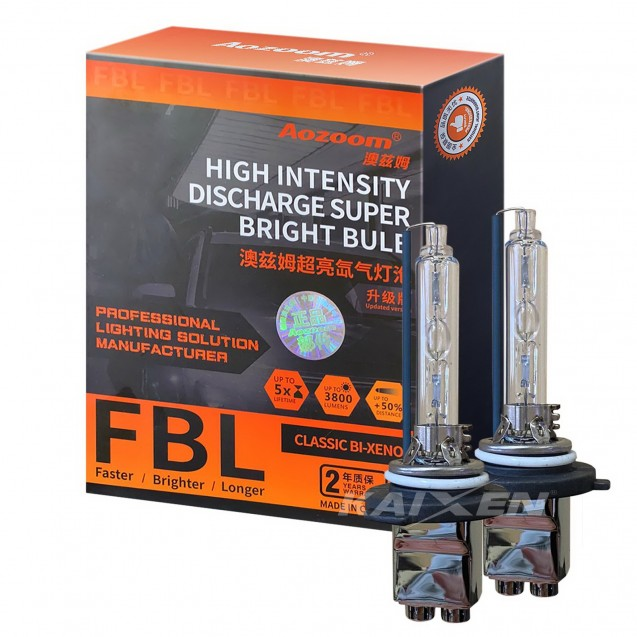 Ксеноновые лампы Aozoom HB3/9005 5500K (35W/3800Lm) FBL